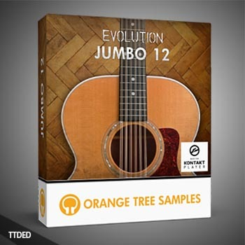 12弦原声电吉他音源 Orange Tree Samples – Evolution Rick 12 KONTAKT