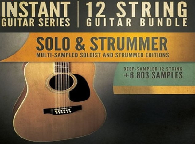 12弦吉他音源 8Dio Instant Guitar Series 12-String Guitar Bundle KONTAKT
