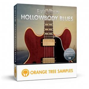 蓝调吉他音源音色:Orange Tree Samples Evolution Hollowbody Blues KONTAKT
